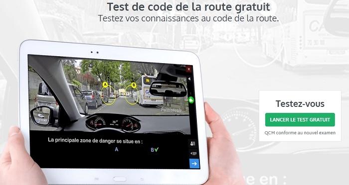 code de la route test
