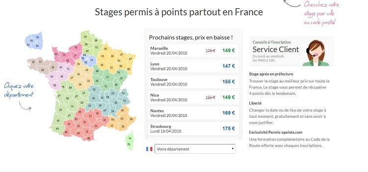 stage de récupération de points Clermont-Ferrand